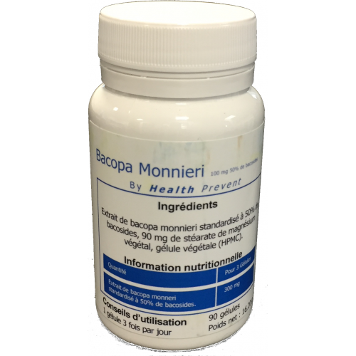 Bacopa Monnieri 100 mg