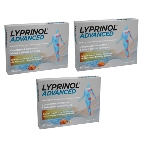 LYPRINOL ADVANCED (Pack 3 boîtes)
